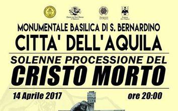 Processione Cristo Morto 2017 L'Aquila