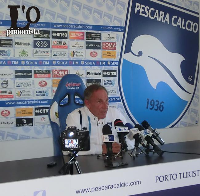 Zeman presenta Cagliari–Pescara, la diretta web domenica 30 aprile dalle ore 15