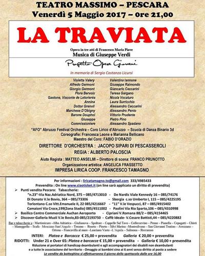 la traviata locandina