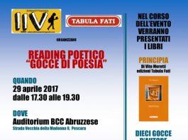 locandina GOCCE DI POESIA