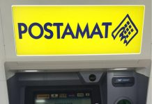 nuovo ATM Postamat