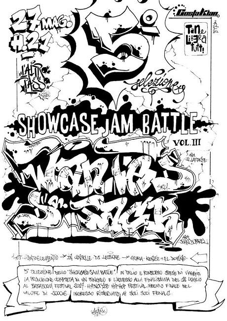 5 selezione showcase jam battle tana liberi tutti teramo te