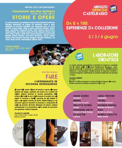 Abruzzo Open Day 2017 Castelbasso