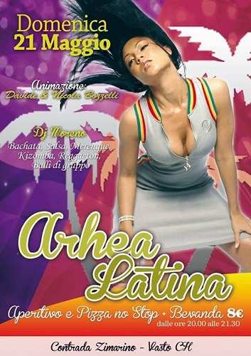 Arhea Latina 21 maggio 2017