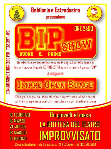 BIP Show 18 maggio 2017
