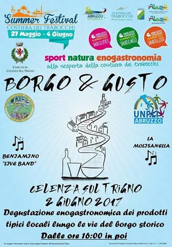 Borgo & Gusto 2017 a Celenza sul Trigno