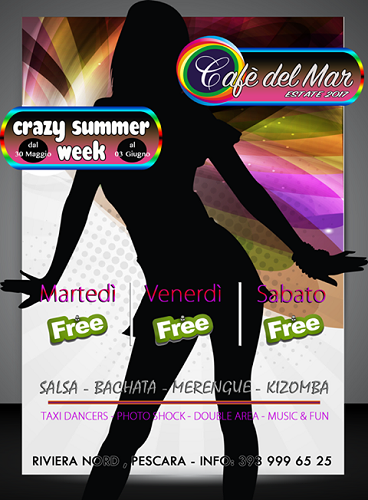 Cafè del mar summer week 2017