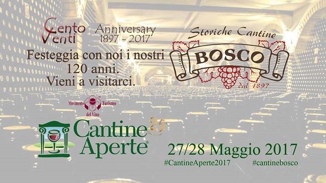 Cantine aperte 2017 alle Storiche cantine Bosco