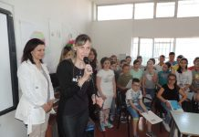Foto conferenza stampa bambini