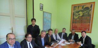 Foto conferenza stampa mercatino etnico