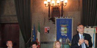 Foto incontro con giudice Morosini
