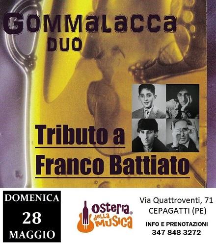 Gommalacca tributo a Franco Battiato