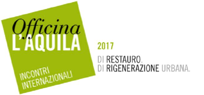 Incontri Internazionali di Restauro e Rigenerazione Urbana.