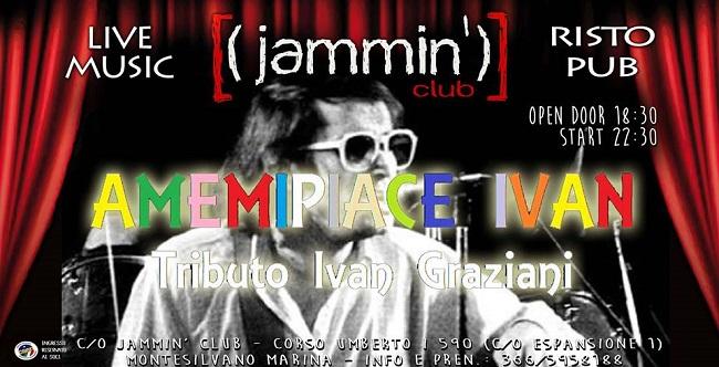 Ivan Graziani Night al Jammin' club!