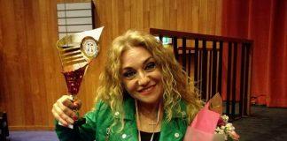 La cantante pescarese Hanna si aggiudica il terzo posto al Festival di Liegi