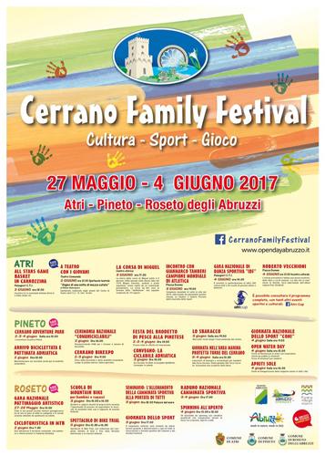 Manifesto Cerrano family festival