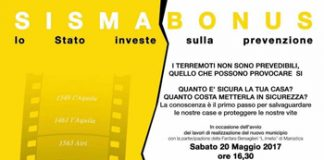 Manifesto Convegno Sismico