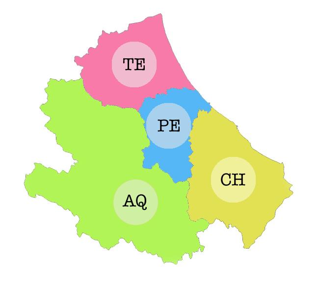 Clicca sulla mappa per scegliere la provincia