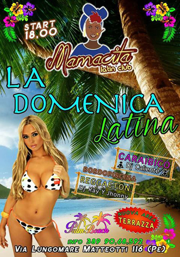 Palm Beach Mamatica latin club 21 maggio 2017