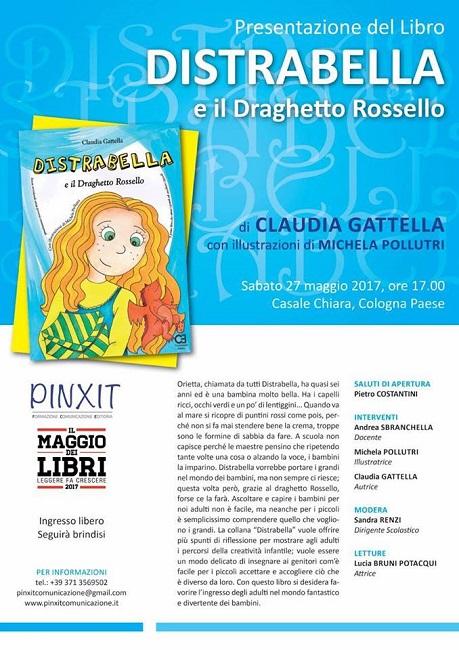 Presentazione del nuovo libro di Claudia Gattella casale ch