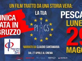 Proiezione Piigs unica data in Abruzzo