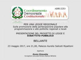 Promozione della partecipazione popolare alla programmazione e alle politiche regionali e locali