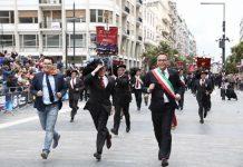 Raduno dei bersaglieri a Pescara, le foto della sfilata