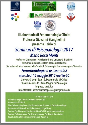 Seminari di Psicopatologia 2017