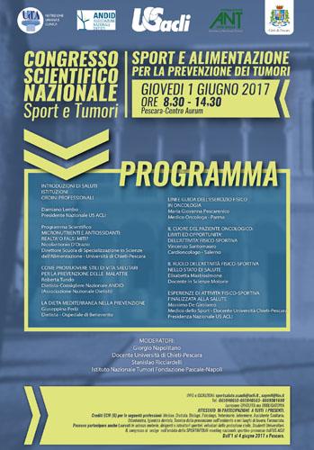 Sport e alimentazione Pescara 1 giugno