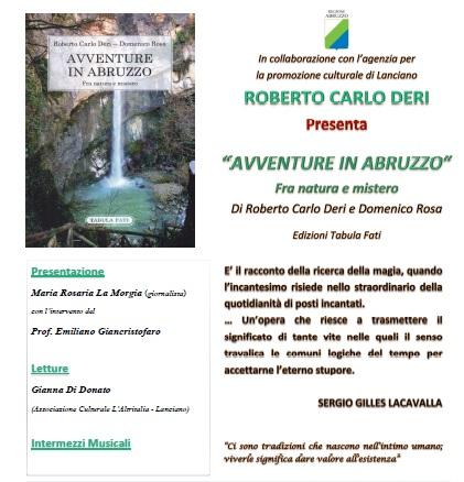 avventure in Abruzzo