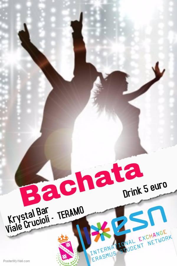 bachata class krystal bar teramo te 22 maggio 2017