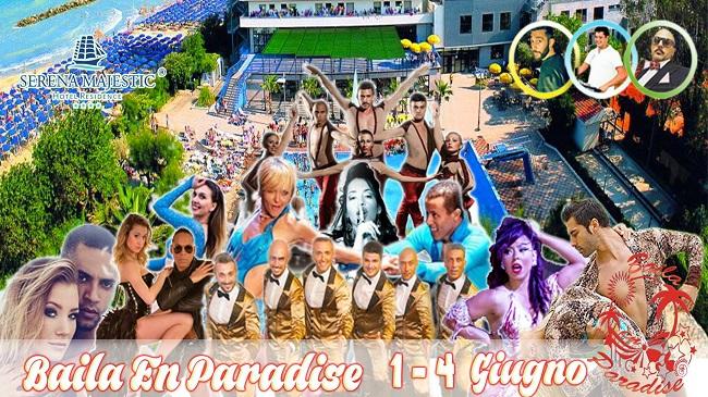 baila en paradise 2017