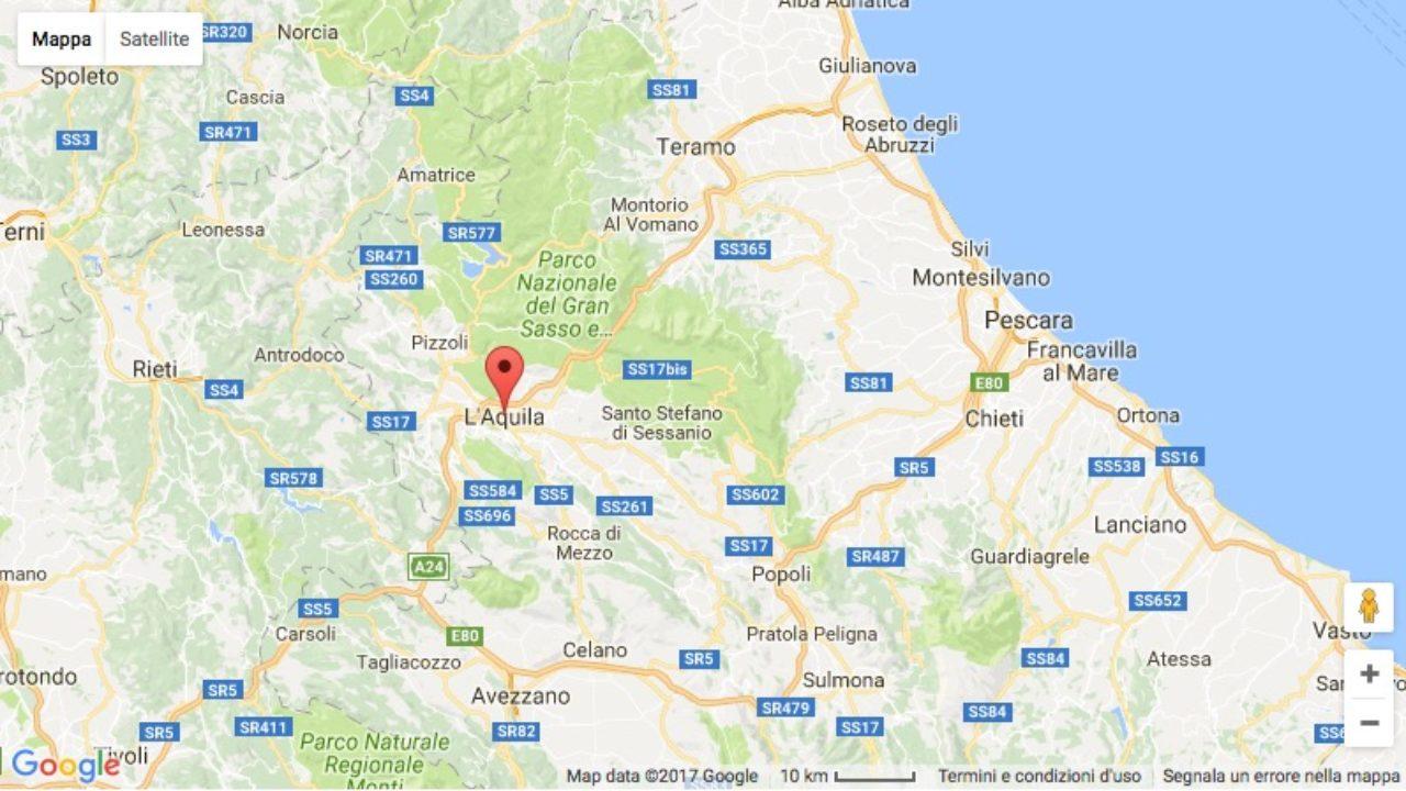 Cartina Dettagliata Abruzzo.Notizie Abruzzo Oggi Archivio Storico Abruzzonews