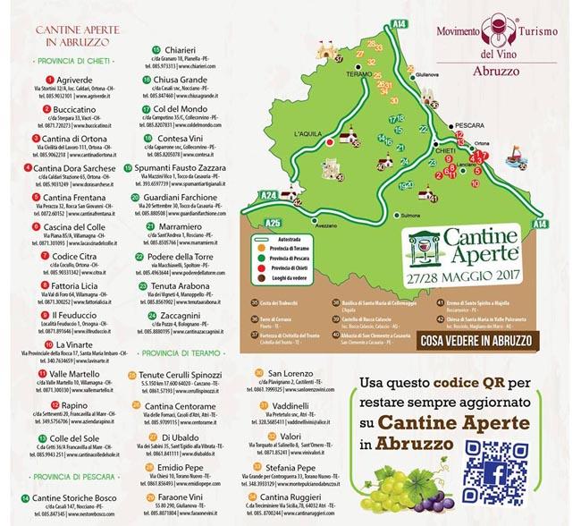 Cantine Aperte 2017: degustazioni di vini ed eventi in Italia, il programma