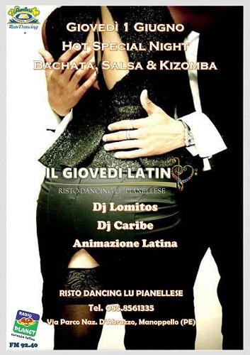 hot special night 1 giugno 2017 Lu Pianellese