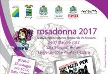locandina ROSADONNA 2017