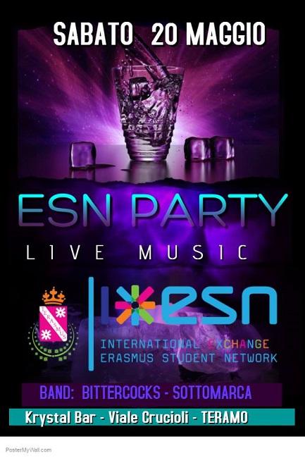 notti da erasmus live music krystal bar teramo te 20 maggio 2017