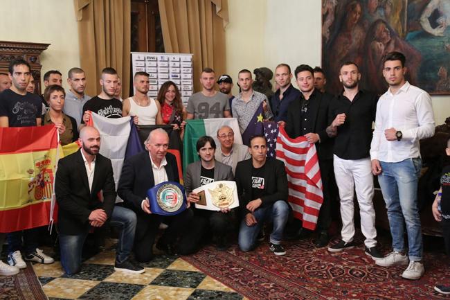 presentazione Campionato Internazionale Fight Clubbing 2017