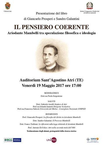 presentazione libro su Mambelli di Giancarlo Prosperi e Sandro Galantini