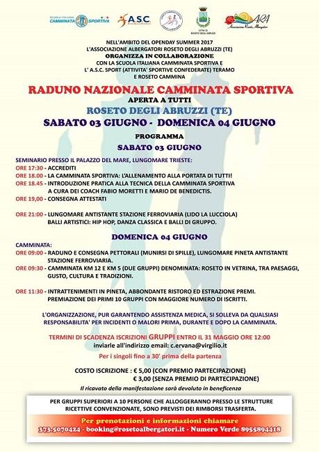 raduno nazionale camminata sportiva