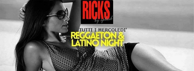 serata reggaeton latino ricks by splash