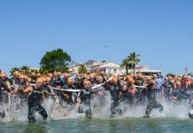 1° Triathlon Olimpico ALBATOUR partenza 2017