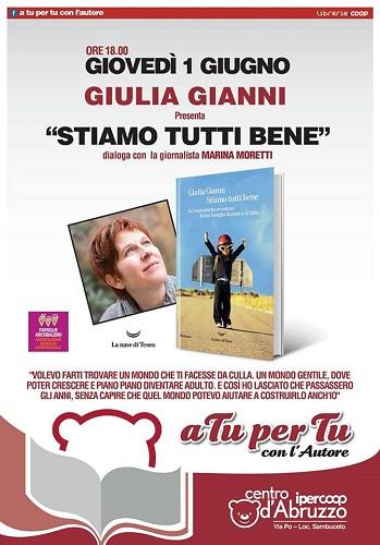 A tu per tu con l'autore Giulia Gianni