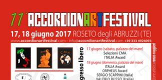 ACCORDION ART FESTIVAL SABATO E DOMENICA A ROSETO