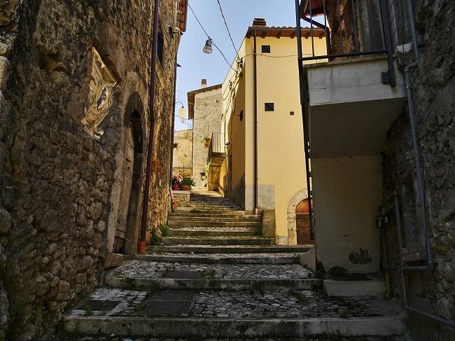 Borgo vecchio Cansano