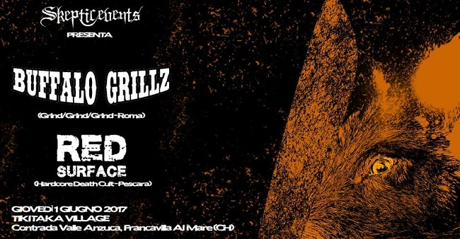 Buffalo Grillz e Red Surface in concerto