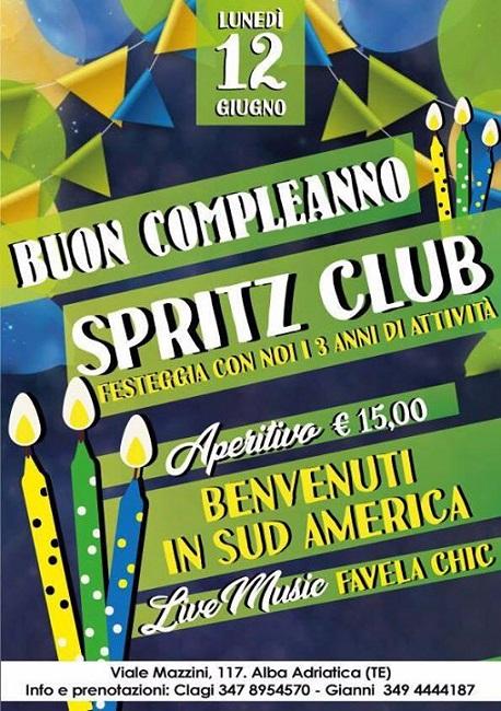 uon compleanno Spritz Club!