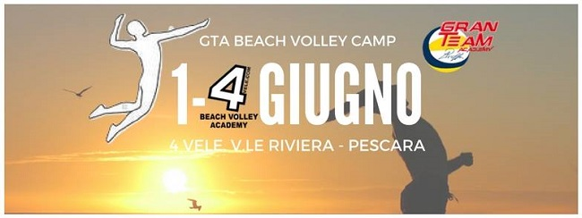 GTA Beach Volley Camp Pescara 2017