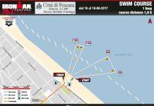 Ironman Swim Course