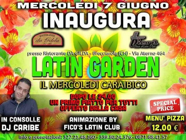 Latin Garden 7 giugno 2017